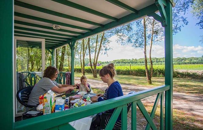 Camping Sites et Paysages les Saules 6 - Cheverny