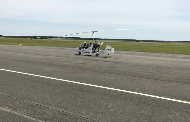 La Maugerie ULM - Autogire 8 - Villefrancœur