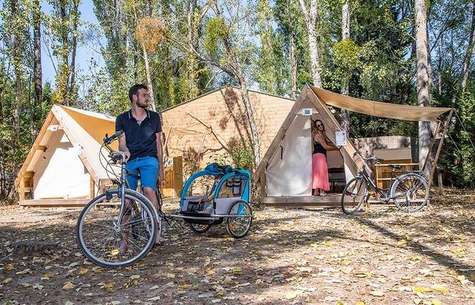 Camping Sites et Paysages les Saules 7 - Cheverny