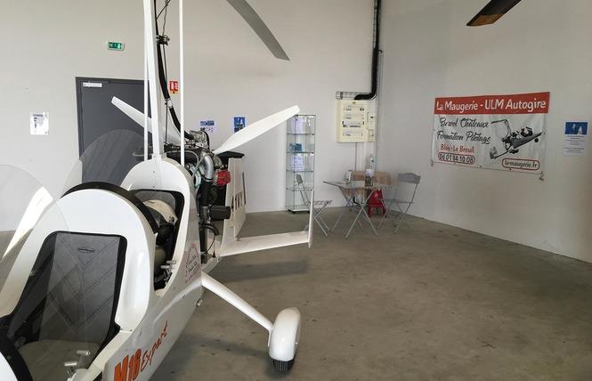 La Maugerie ULM - Autogire 10 - Villefrancœur