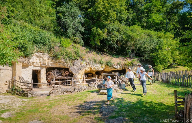 La Vallée Troglodytique des Goupillières 1 - Azay-le-Rideau