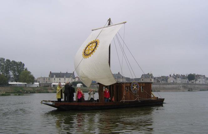 Mon voyage sur la Loire en bateau traditionnel 7 - Blois