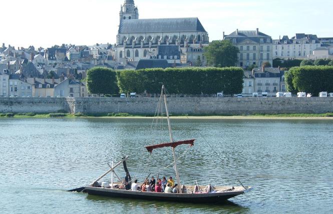 Mon voyage sur la Loire en bateau traditionnel 13 - Blois