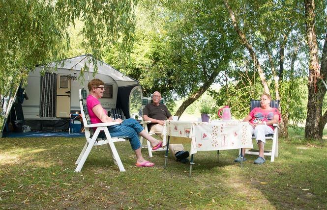 Camping Sites et Paysages les Saules 10 - Cheverny