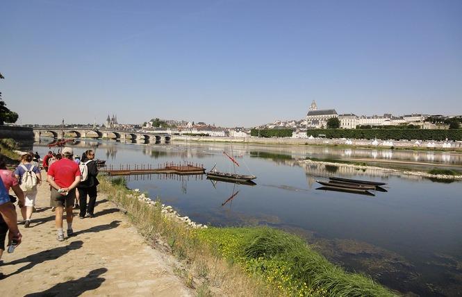 Mon voyage sur la Loire en bateau traditionnel 11 - Blois