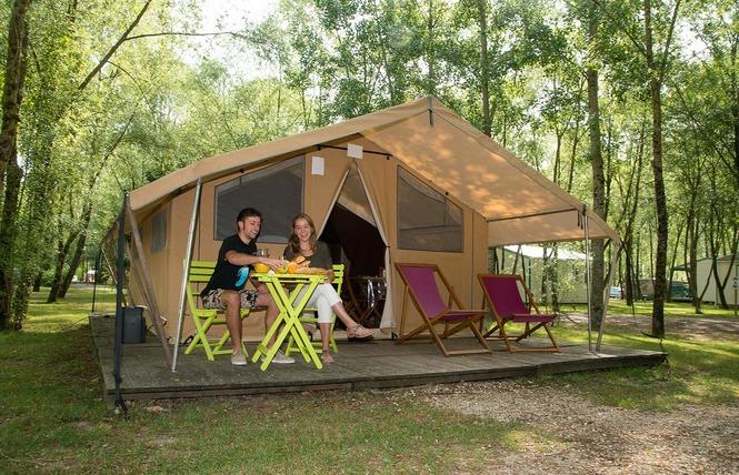 Camping Sites et Paysages les Saules 3 - Cheverny