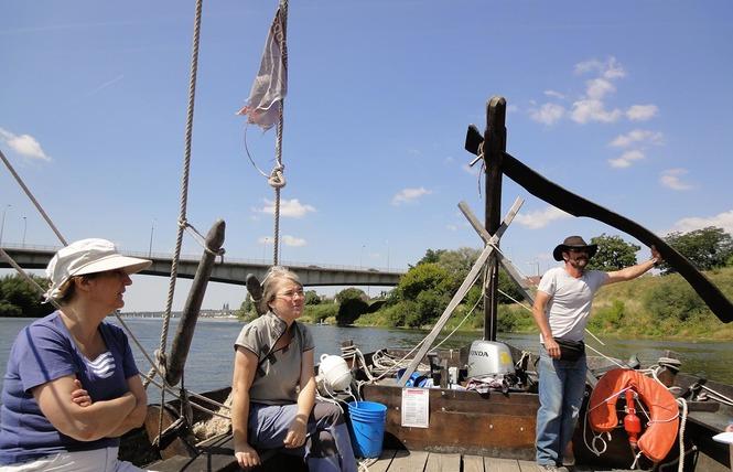 Mon voyage sur la Loire en bateau traditionnel 9 - Blois