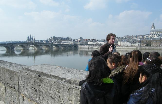Mon voyage sur la Loire en bateau traditionnel 10 - Blois