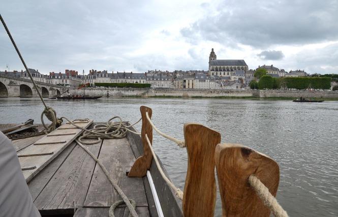 Mon voyage sur la Loire en bateau traditionnel 12 - Blois