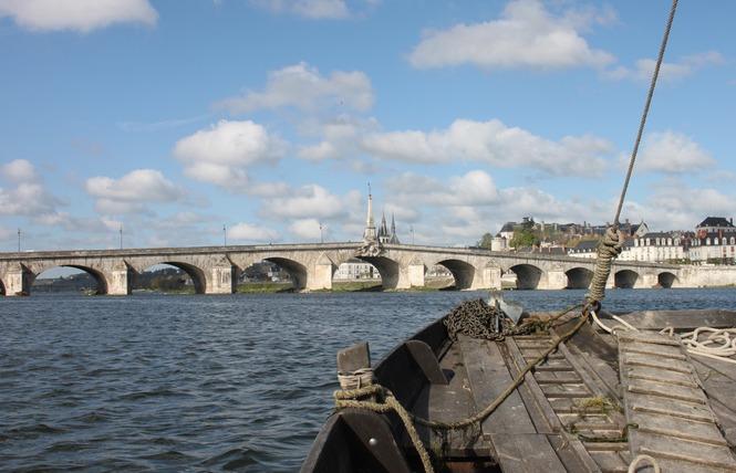 Mon voyage sur la Loire en bateau traditionnel 5 - Blois