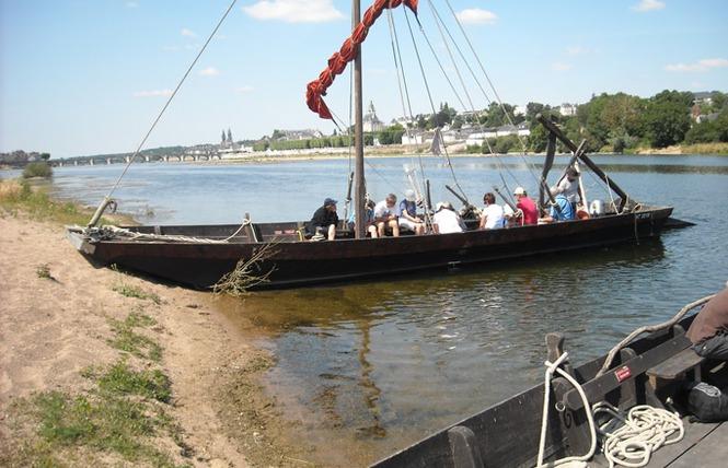 Mon voyage sur la Loire en bateau traditionnel 6 - Blois